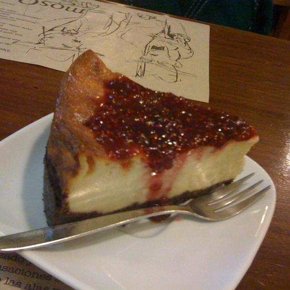 Cheescake Frambuesa @ Mosqueto Café