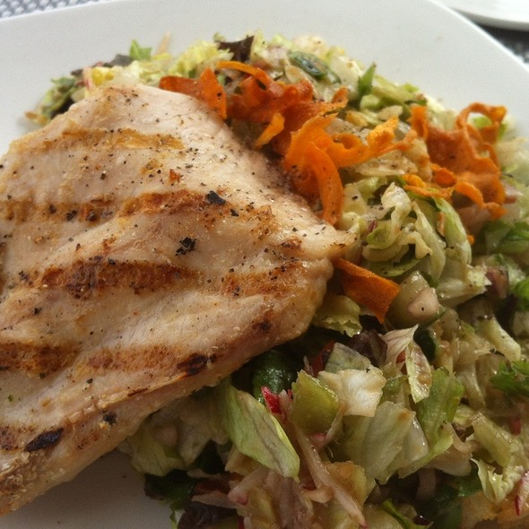 Grilled Mahi And Chopped Salad - Chart House - Tampa, Tampa, FL