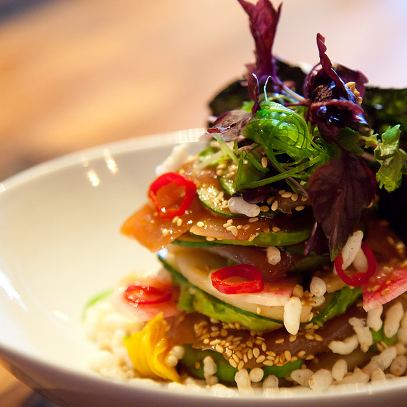 Japanese Style Tuna Salad - Origin Restaurant, Toronto, ON
