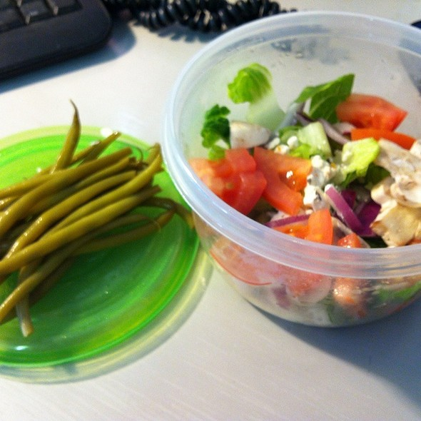 Haricot Verts With Salad
