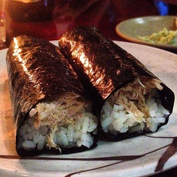 Blue Crab Hand Roll @ Sushi Sasabune