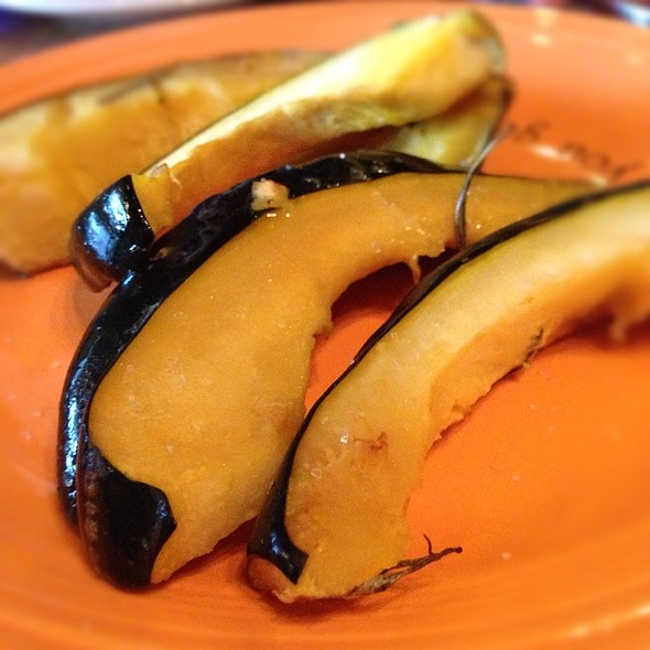 Roasted Acorn Squash @ Cafe Gratitude
