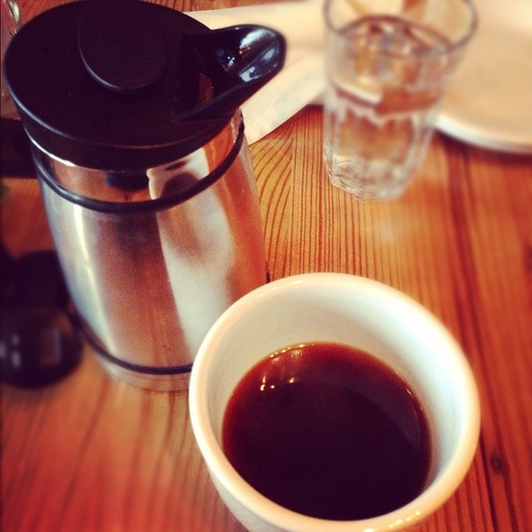 French Press Coffee @ Cafe Gratitude