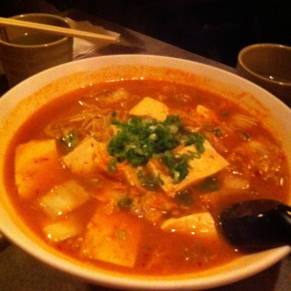 Mapo Tofu Ramen @ Katana-ya