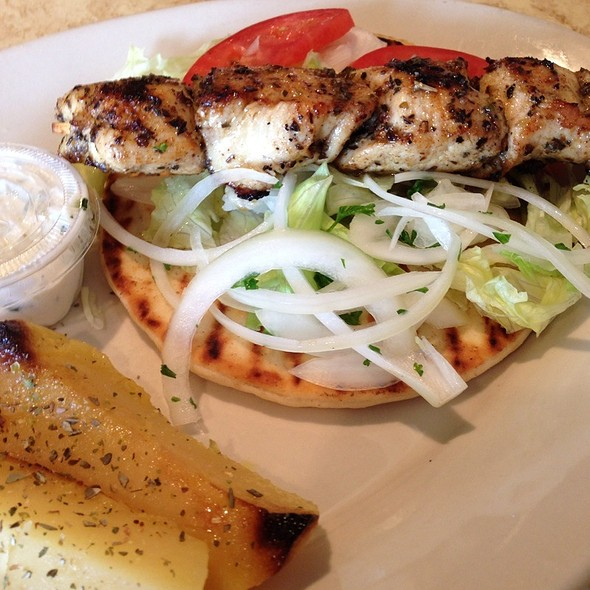 Chicken Souvlaki - The Greek Islands Restaurant, Indianapolis, IN