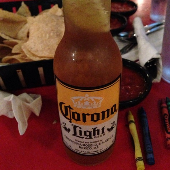 Corona Beer @ Salty Iguana Mexican Restaurant