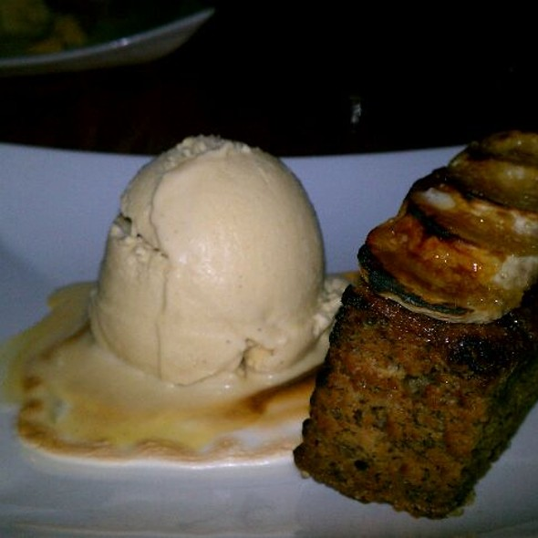 Caramelized Banana Cake @ Fly Bar And Restaurant