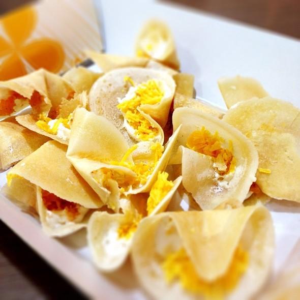 Sweet Thai Taco ขนมเบื้องไทยหวาน-เค็ม