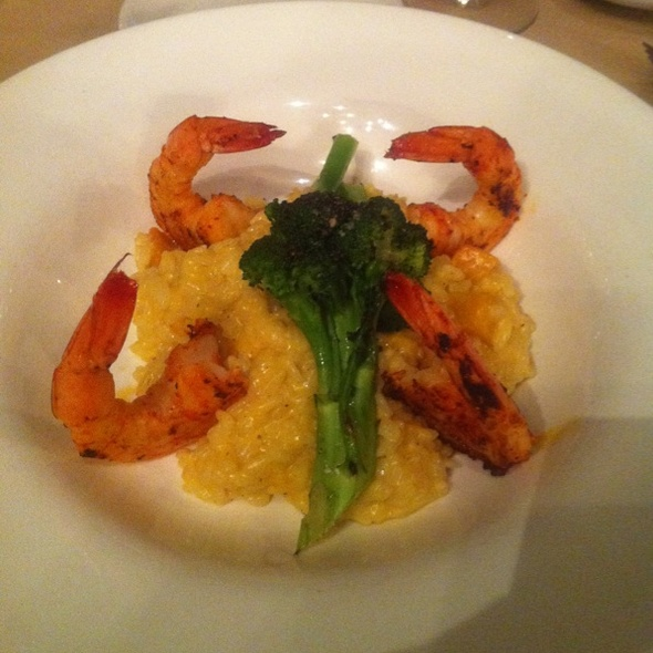 Butternut Squash and Shrimp Risotto