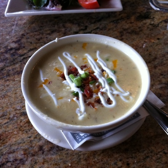 Potato Cheddar Soup @ Cheesecake Factory