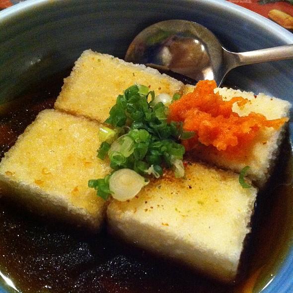 Agedashi Tofu @ Umezono Japanese Restaurant