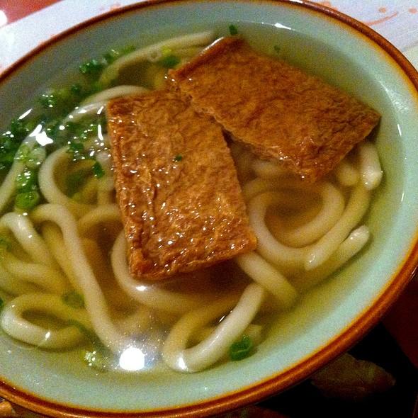 Kitsune Udon @ Umezono Japanese Restaurant