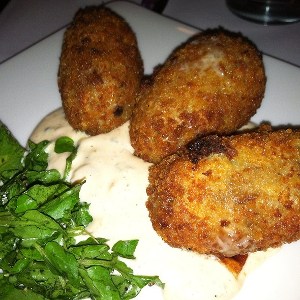 Wild Mushroom Arancini @ Ovie Bar And Grill