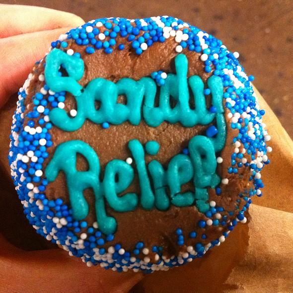 Hurricane Sandy Cupcake @ Little Cupcake Bakeshop