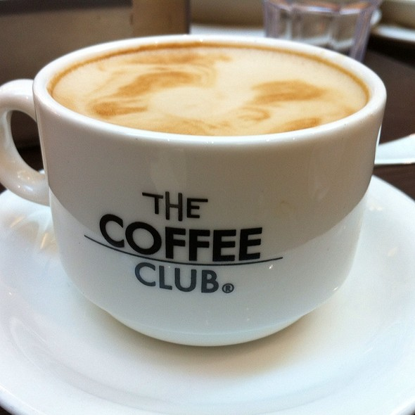 Regular Flat White @ The Coffee Club