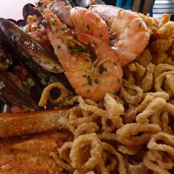 Tabua de frutos do mar @ Nova Iorqui