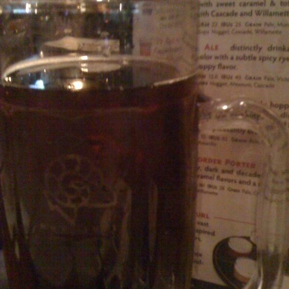 Buttface Amber Ale - Ram Restaurant & Brewery - Schaumburg, Schaumburg, IL