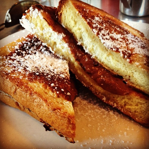 French Toast With Nutella Cream Cheese