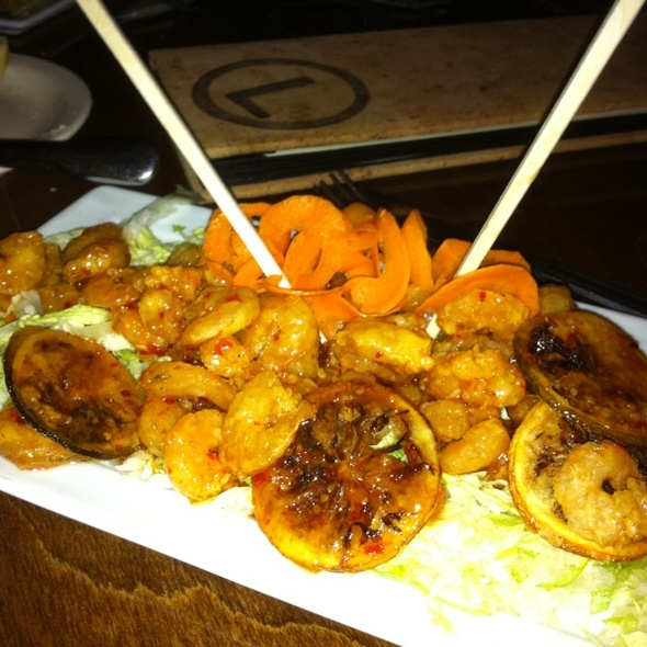 Sweet And Spicy Shrimp - Lottinville's Restaurant and Bar, Edmond, OK
