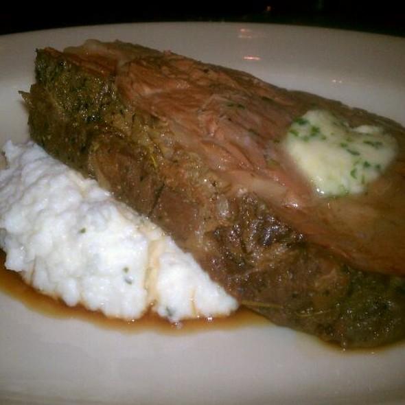 10 oz. Prime Rib With Herb Truffle Butter Served With Creamy Mascarpone Polenta - Wilderness Ridge, Lincoln, NE