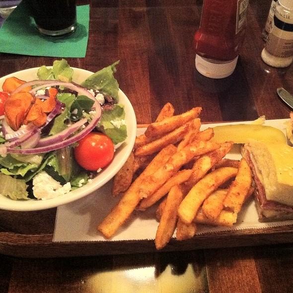 Nola Salad And Muffaletta @ Nola On the Square