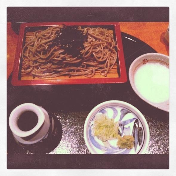 Cold Soba Tororo @ Soba Nippon