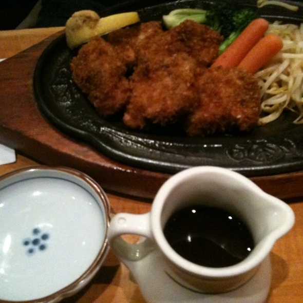 tonkatsu @ Soba Nippon