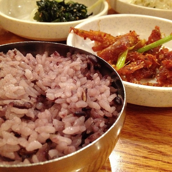 Rice And Side Dishes @ Kunjip Restaurant