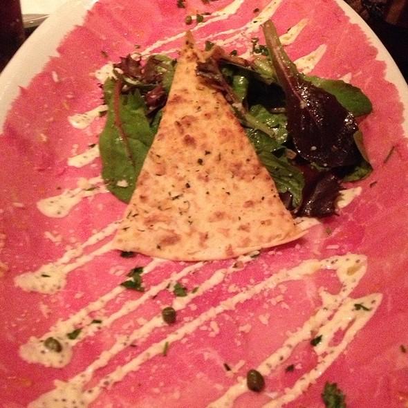 Beef Carpaccio @ Brio Tuscan Grill