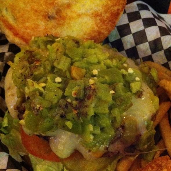Green Chile Burger @ 3 B's Restaurant