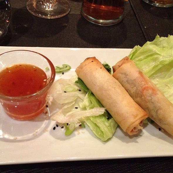 Duck Confit Spring Rolls