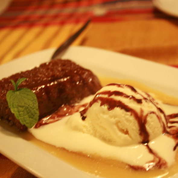 Sticky Toffee Pudding @ Cafe Juanita