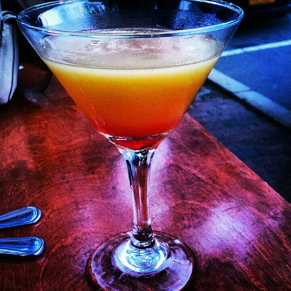 Apricot Martini - Talulla's, Chapel Hill, NC