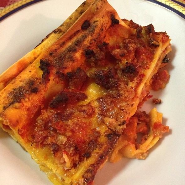 Lasagne @ Chiara's Home