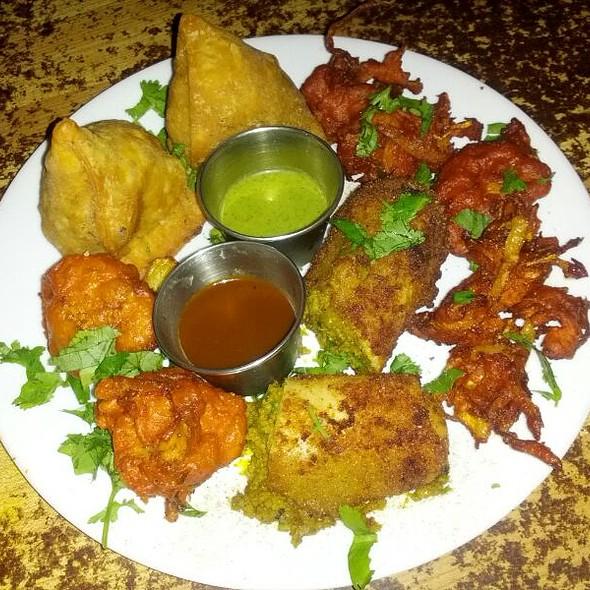 Appetizer Sampler @ Seva Indian Restaurant