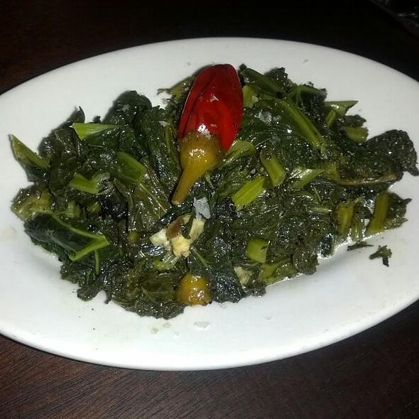 Sauteed Kale @ Exchange Alley