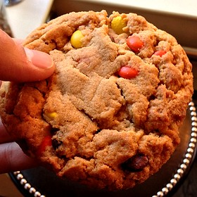 Reese's Pieces Peanut Butter Cookie