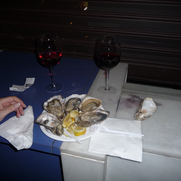 Oysters @ Mercado San Miguel