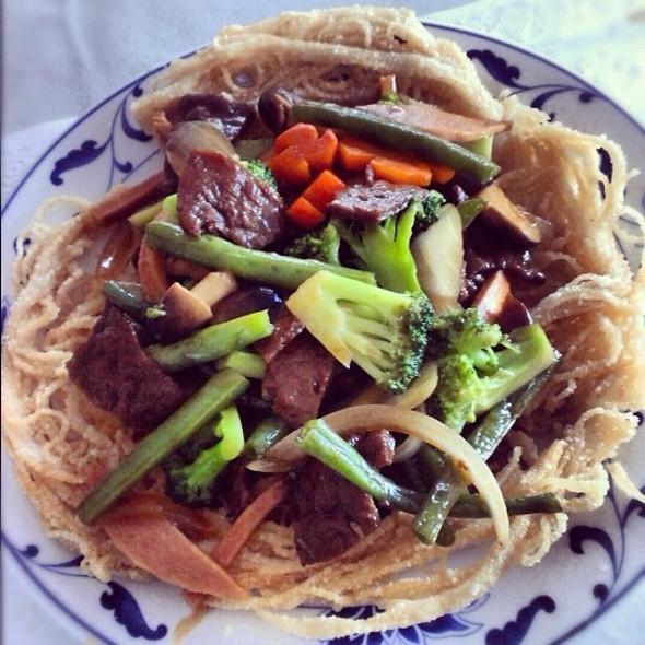 Vegan Noodle Pancake @ Trang Viet Cuisine
