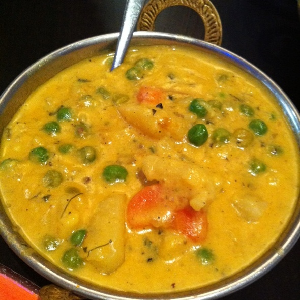Vegetable Korma @ Real Flavour of India