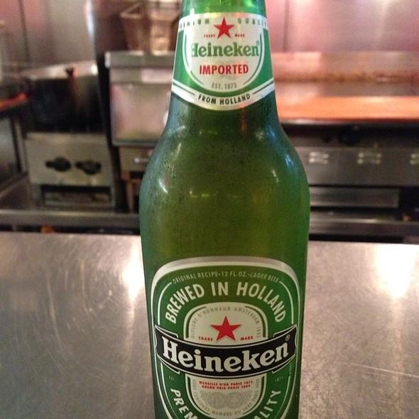 Heineken Beer @ Primanti Brothers Pizza Grill