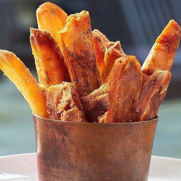 Triple Cooked Fries, Malt Vinegar @ Central 214