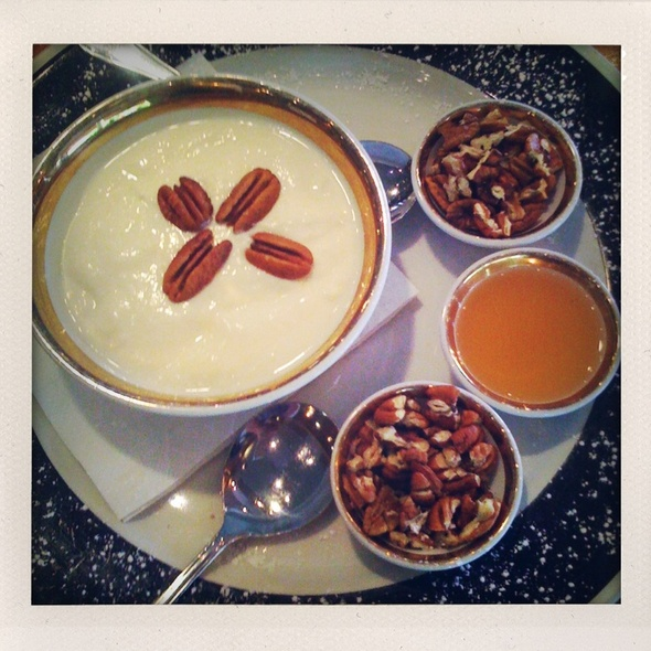 Greek Yogurt With Honey & Walnuts @ Cafe 41 Eastwood Village Cc