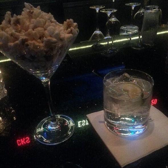 gin and tonic - America Restaurant, Trump Toronto, Toronto, ON
