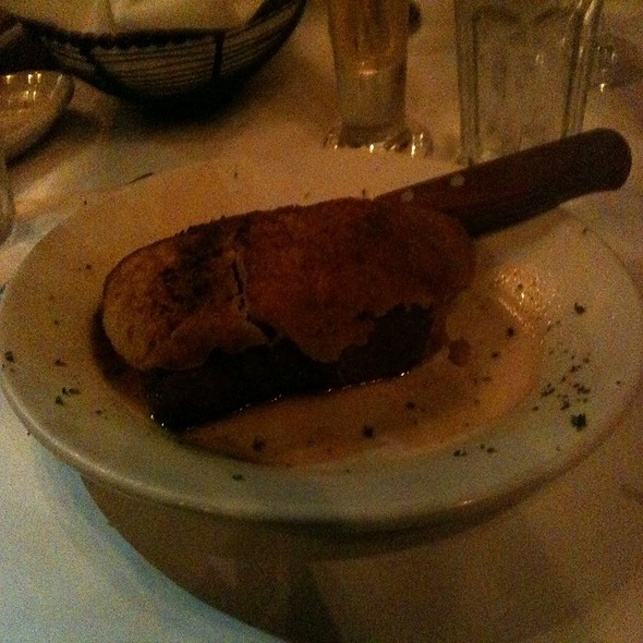 14Oz Ny Strip With Horseradish Crust @ Elliot's Seafood And Chop House