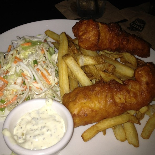 Fish and Chips - Henry's Tavern - Plano, Plano, TX