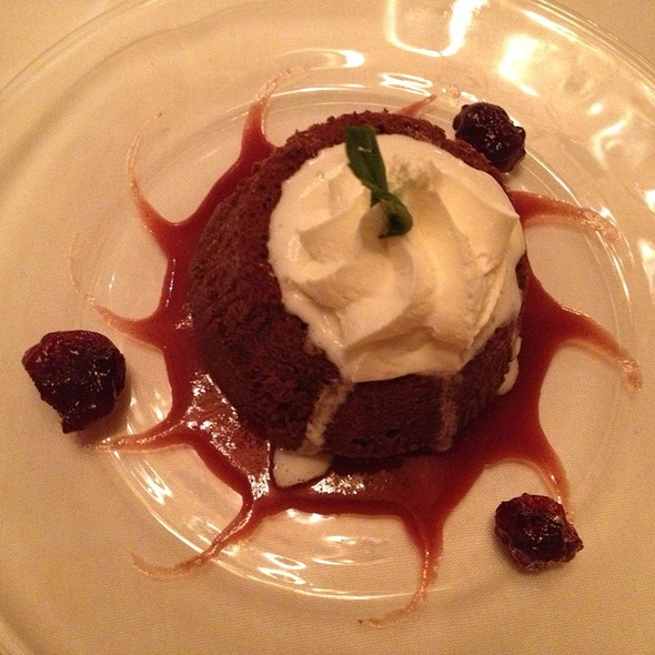 Molten Lava Cake @ The Greenbriar Inn