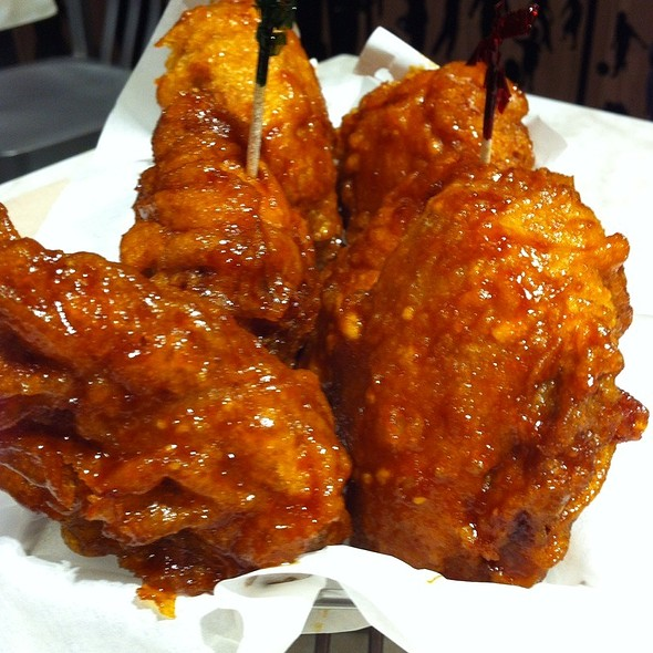 Hot and Spicy Chicken @ BonChon