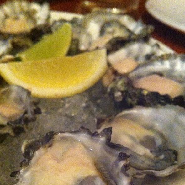 Kumamoto oysters @ Sandwich Spot
