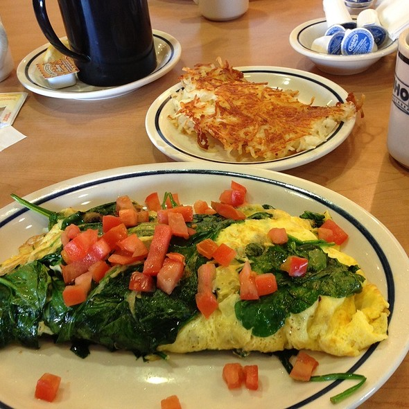 Calories In Spinach And Mushroom Omelette Ihop